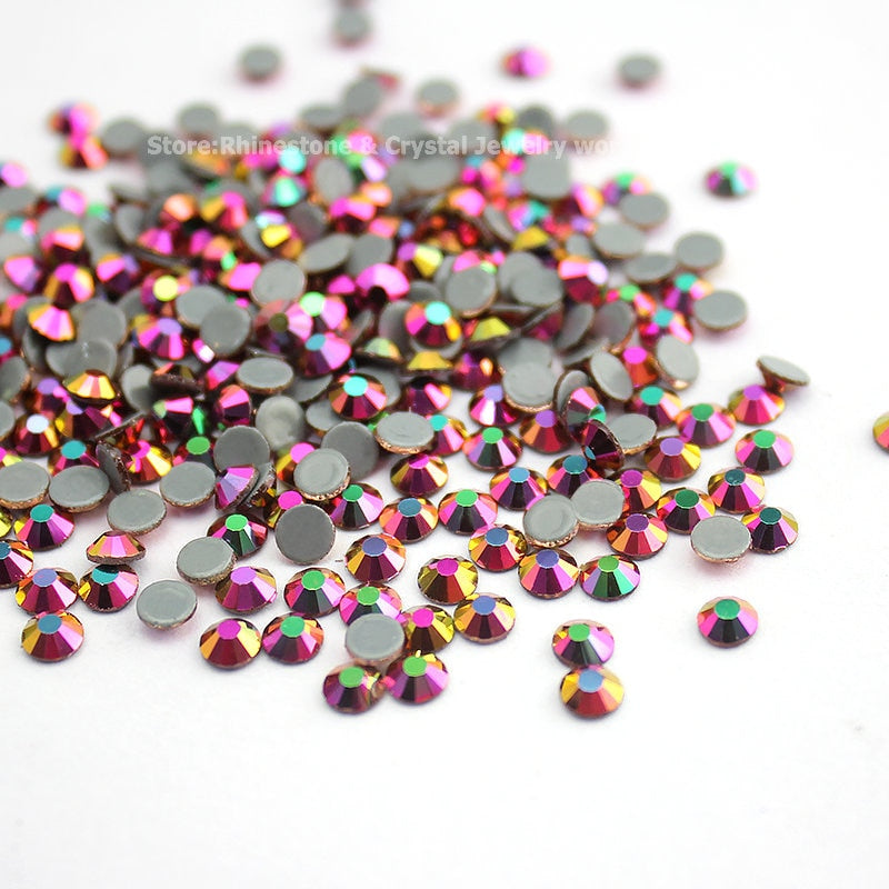 Rainbow SS16-SS30 Crystal AB Hot Fix Rhinestones
