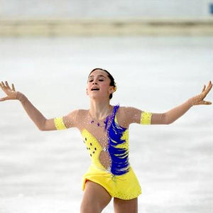 Girls Custom Figure Skating Dress