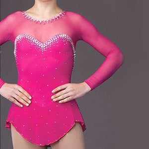 Women's and Girls Custom CompetitionFigure Skating Dresses