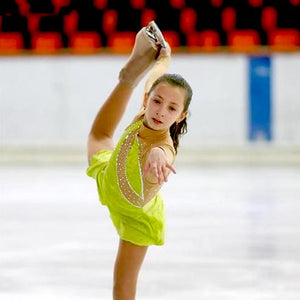 Girls Graceful Competition Freestyle Skating Dress