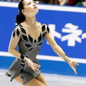 Girls Graceful Figure Skating Dresses