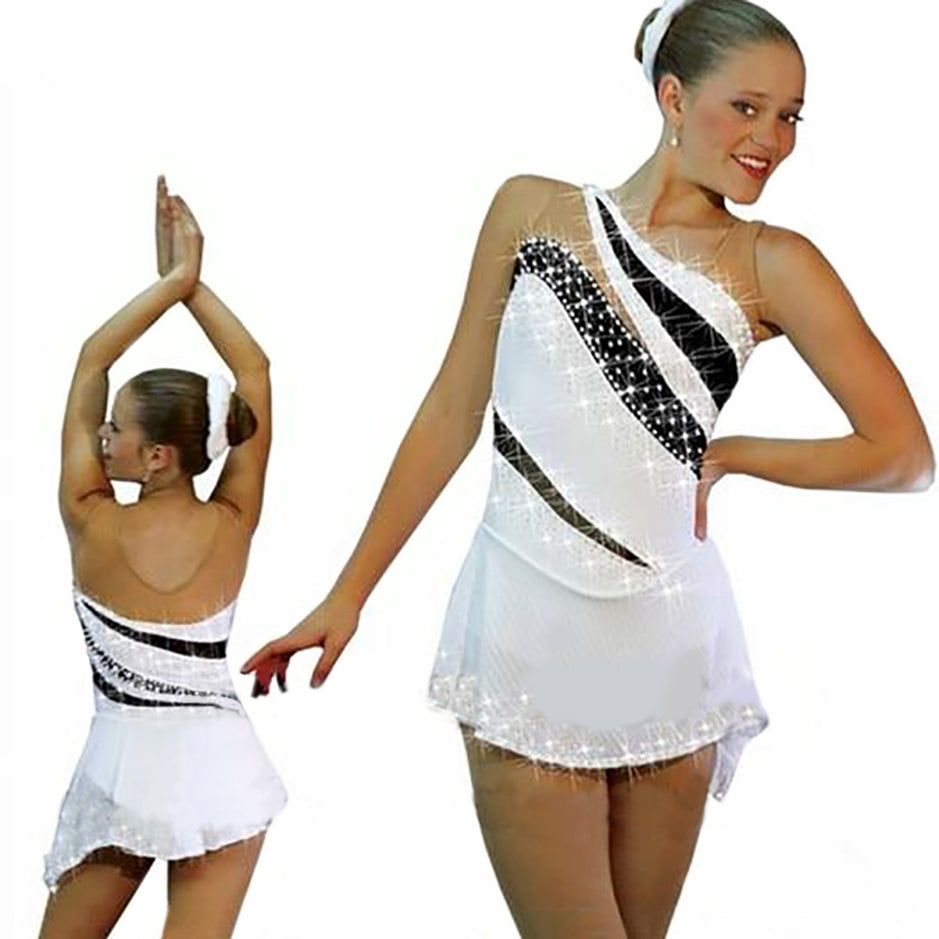 Crystal Custom Figure Skating Dress for Women and Girls
