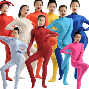 Women's Lycra Spandex Jumpsuit Unitards