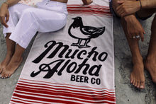Load image into Gallery viewer, Mucho Aloha Beach Towel