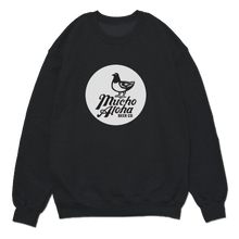 Load image into Gallery viewer, Mucho Aloha - Classic Crew Sweatshirt - Black