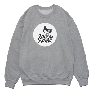 Mucho Aloha - Classic Crew Sweatshirt - Heather Grey