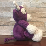 Crochet, Purple Cow