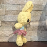 Crochet, Yellow Bunny