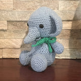 Crochet, Blue elephant
