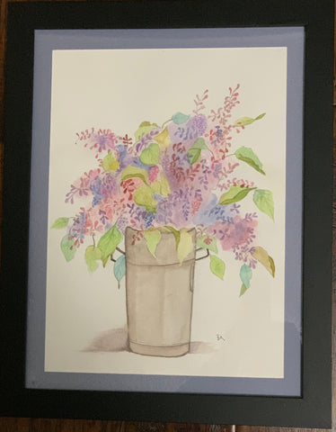 Lilacs in Tin