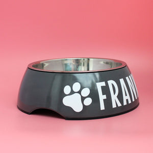 Personalised Dog Bowl - Melamine/Stainless Steel - Large by That Dog Shop - We have Afterpay!