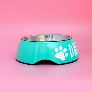 Personalised Dog Bowl - Melamine/Stainless Steel - Small by That Dog Shop - We have Afterpay!