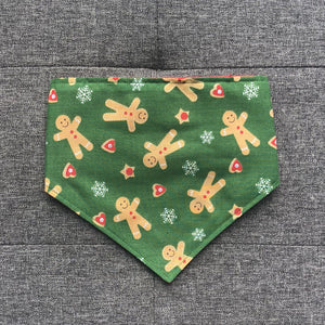 Dog Bandana - Gingerbread Christmas Print by That Dog Shop - We have Afterpay!