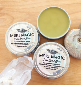 Moki Magic Pain Relieving Salve Made by The Balm Lady