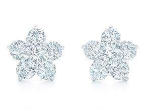 Kwiat Cluster Stud Earrings
