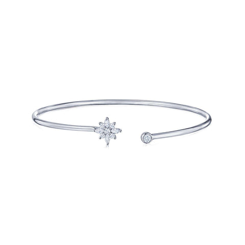 KWIAT STAR OPEN BANGLE