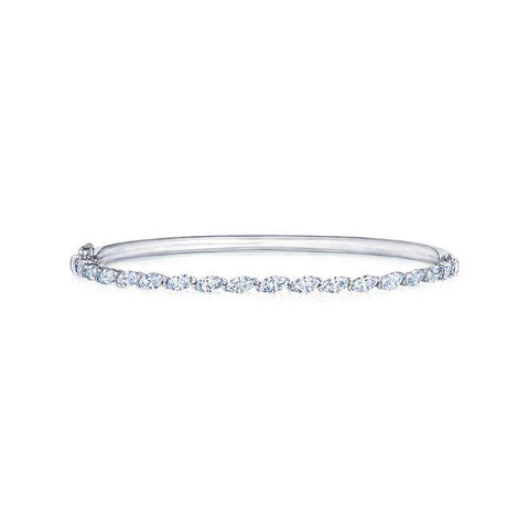 Kwiat ECLIPSE MARQUISE ETERNITY DIAMOND BANGLE