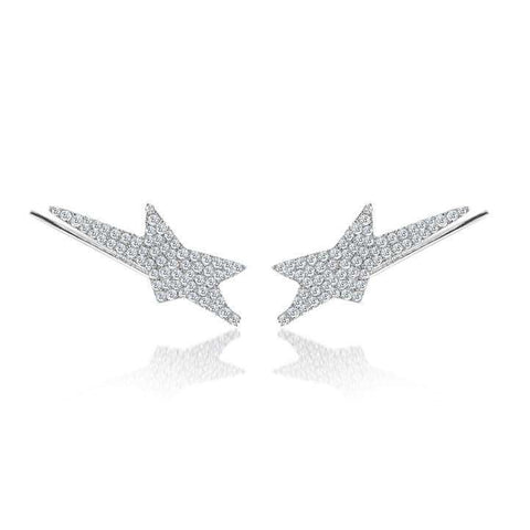 Meira T Star Studded Ear Climbers