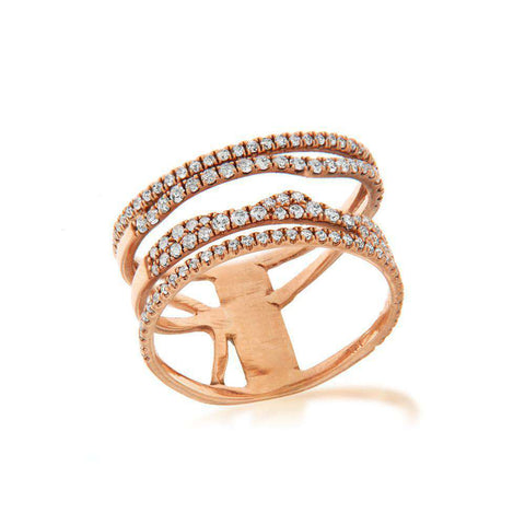 Meira T Rose Gold Illusion Ring