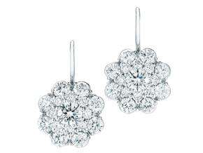 Kwiat Cluster Earrings
