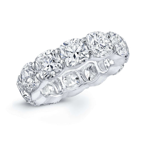 Rahaminov Cushion Diamond Eternity Band