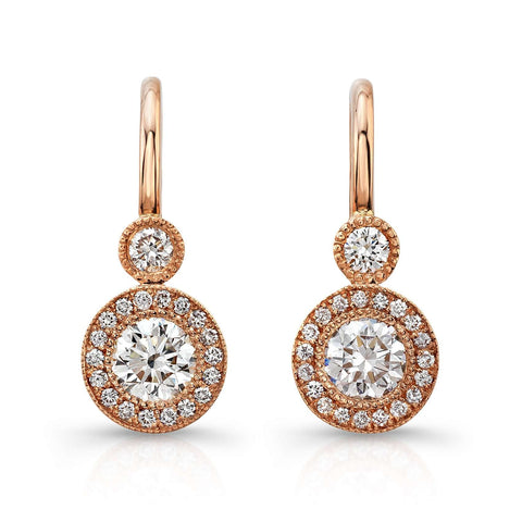Rahaminov Leverback Earrings