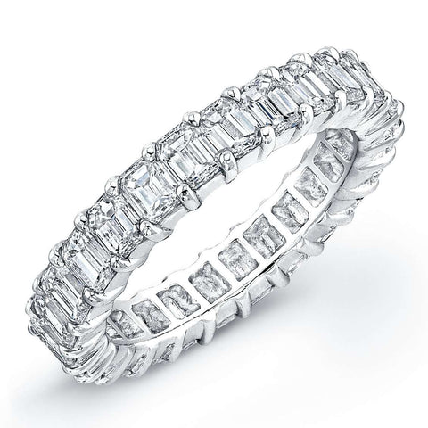 Rahaminov Emerald Eternity Band