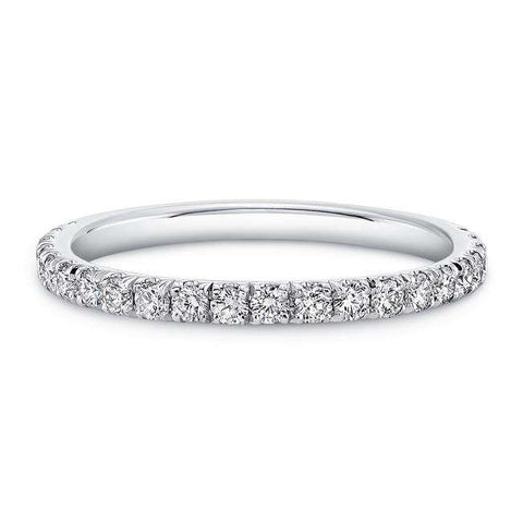 NORMAN SILVERMAN ROUND BRILLIANT DIAMOND ETERNITY BAND