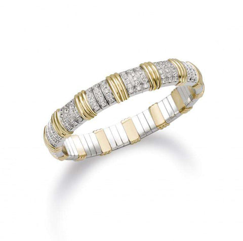 Picchiotti Xpandable Yellow Gold Accented Bracelet