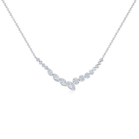 Kwiat Ecilipes Bypass Diamond Pendant