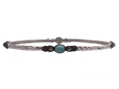 Armenta New World Turquoise Bangle