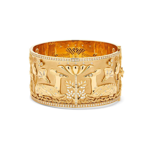 Temple St. Clair Gold and Diamond Bracelet
