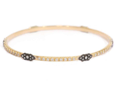 Armenta Old World Yellow Gold Bangle