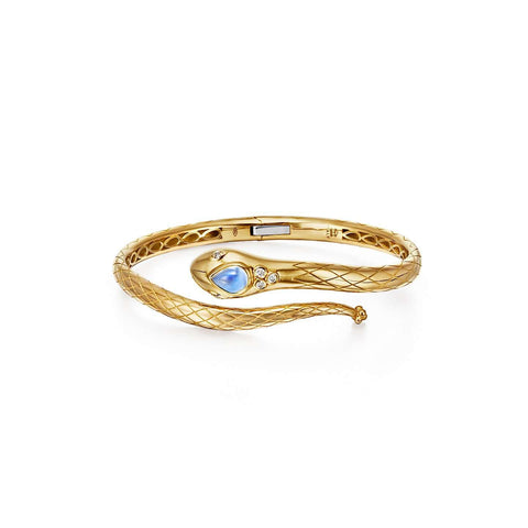 Temple St. Clair 18k Serpent Bella Bracelet