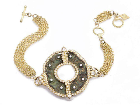 Armenta Sueno Half Oval Necklace