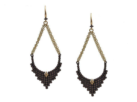 Armenta Old World Pave Earrings