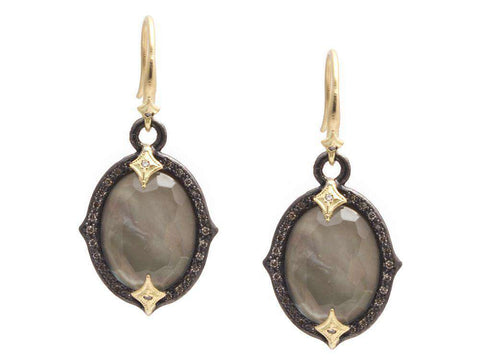 Armenta Old World Triplet Earring
