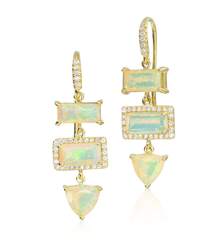 Lauren K Stone Drop Earrings