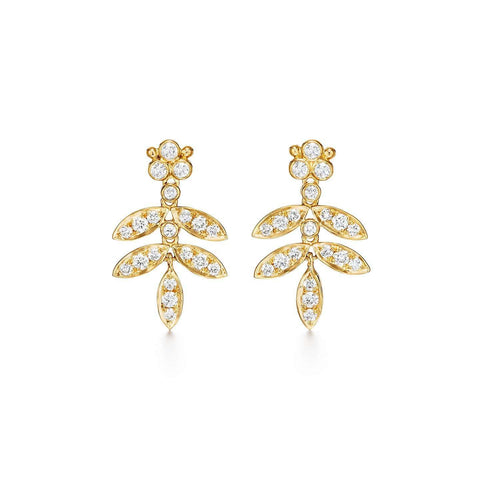 Temple St. Clair Foglia Double Drop Earrings