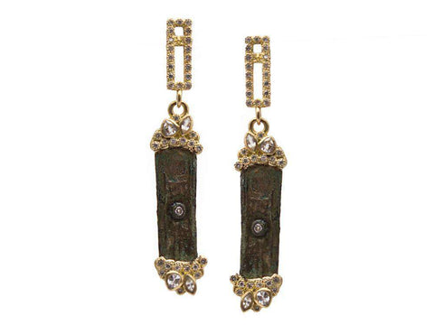 Armenta Sueno Rectangle Earrings