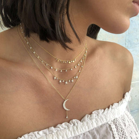 Meira T Dainty Star Necklace