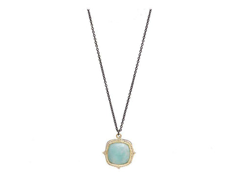 Armenta Old World Aquaprase Necklace