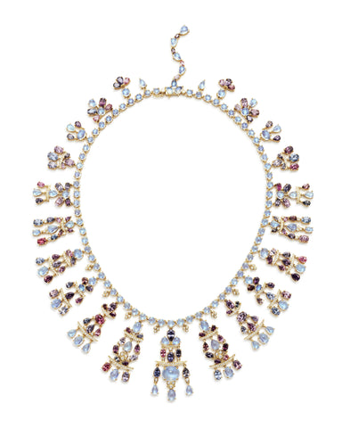 Temple St. Clair Blue Moonstone Necklace