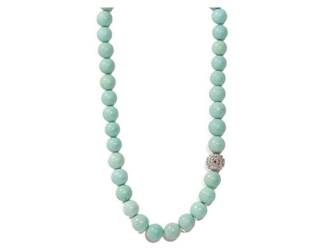 Armenta New World Green Turquoise Necklace
