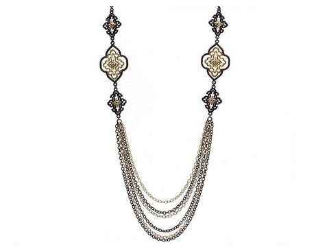 Armenta Old World Multi-Scroll Necklace
