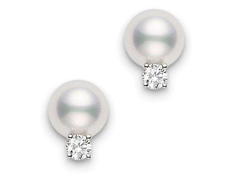 Mikimoto Pearl Earrings