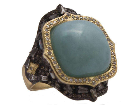 Armenta Old World Aquaprase Ring