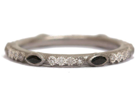 Armenta New World Stack Ring