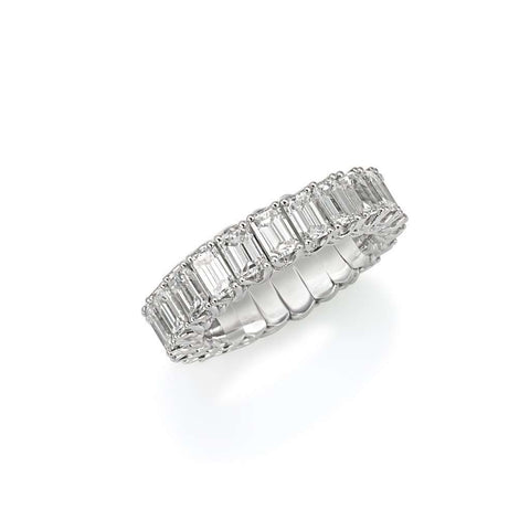 Picchiotti Emerald Cut Diamond Ring