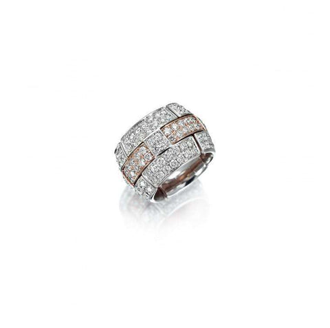 Picchiotti Xpandable Wide Diamond Ring